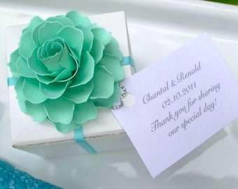 Breakfast at Tiffany - The Rosetta Paper Flowers