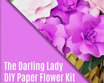 DIY Paper Flower Kit - The Darling Lady