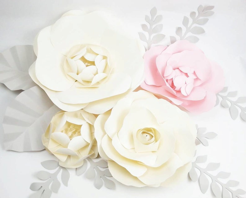 Extra Large Paper Flower Backdrop Nursery Decor Girl Bedroom Custom Order