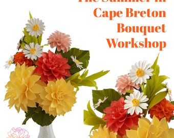 RESERVED - The Summer in Cape breton Bouquet DIY Kit