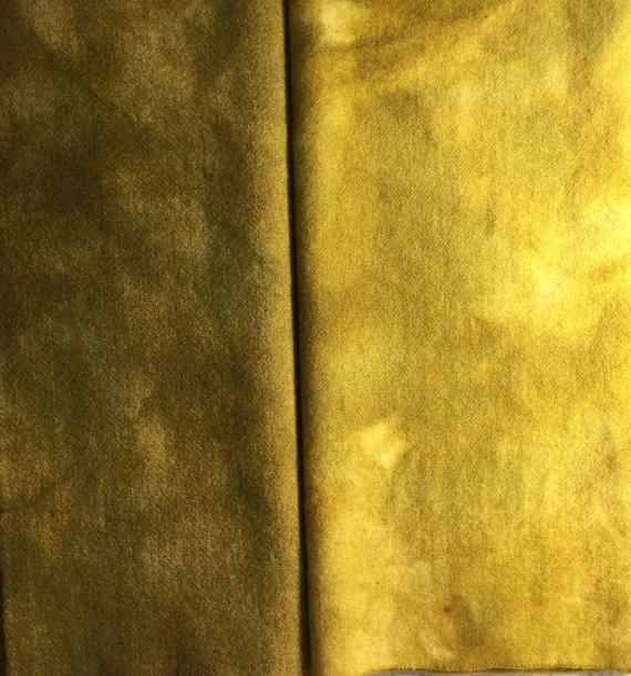 Aegean Sea Spot hand dyed rug hooking wool fabric Fat Quarter