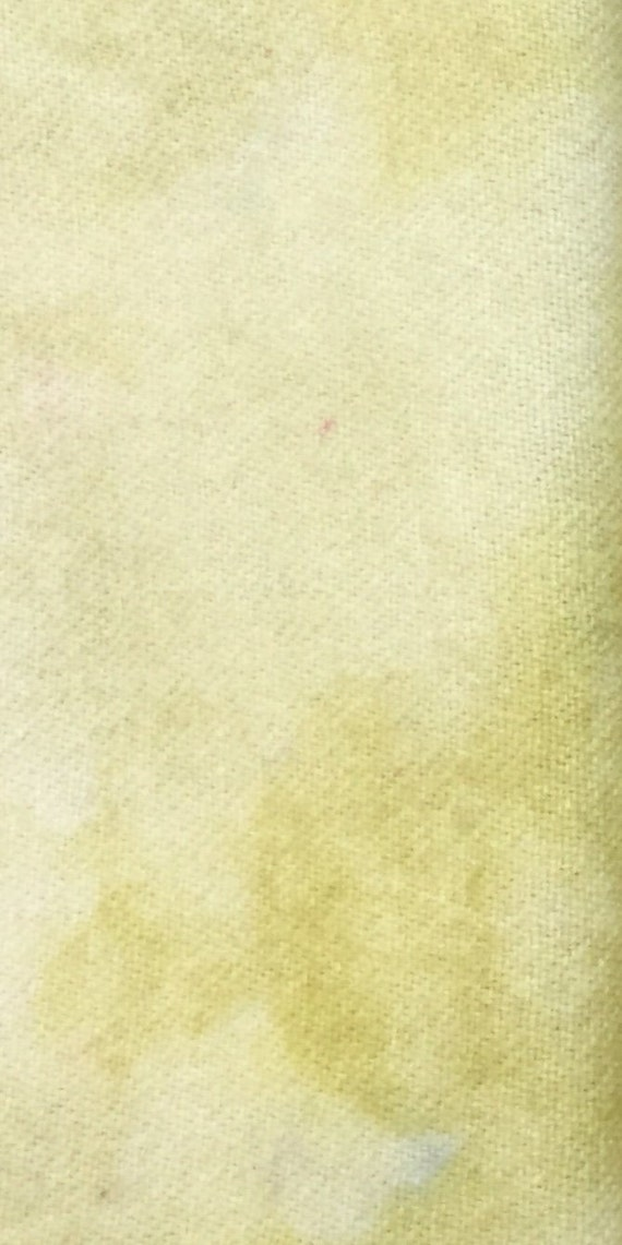 """hand dyed rug hooking wool fabric - Fat Quarter 100/% Wool 1 /""""Yellow Opal/"""""""