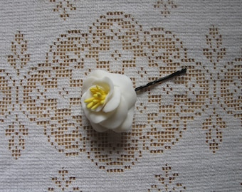 Handmade Flower Bobby Pin