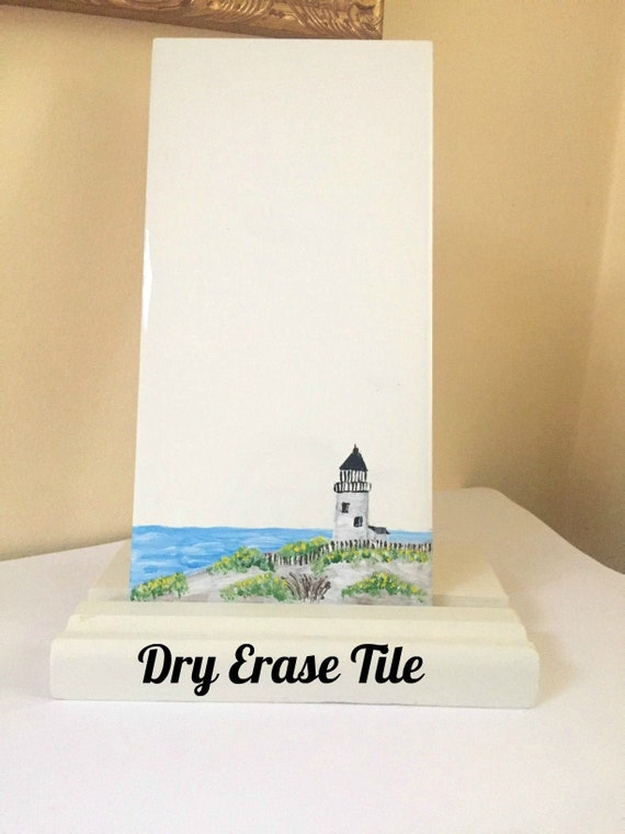 Message Board Desktop Dry Erase Tile with Stand Whiteboard Floral Dry Erase Board Pretty Desk Accessories Kitchen Menu Board