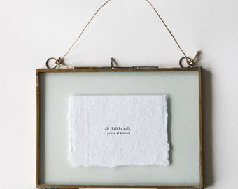 Our Everyday Hanging Frame