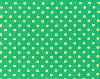Michael Miller Dumb Dots Sprout fabric - 1 yard