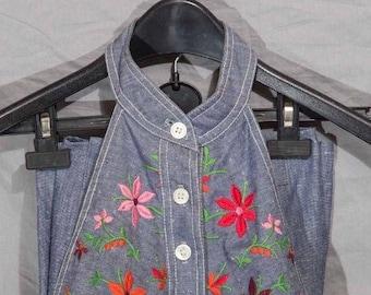 Vintage Anne Klein Three Piece w/ Halter Suit Size 8