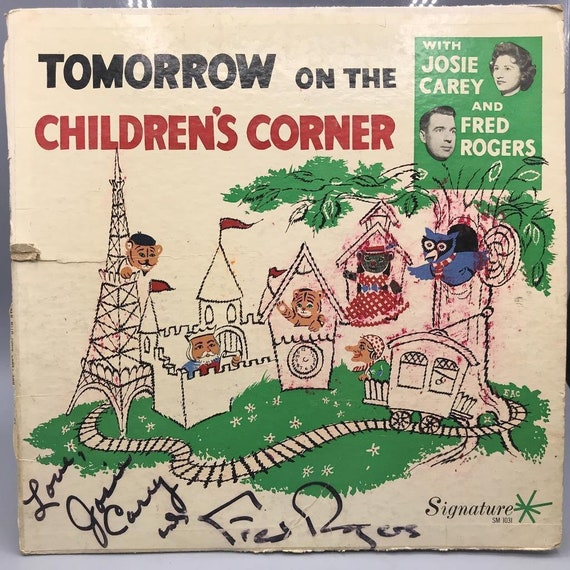 Vintage Fred Rogers Josie Carey Tomorrow On The Childrens Etsy