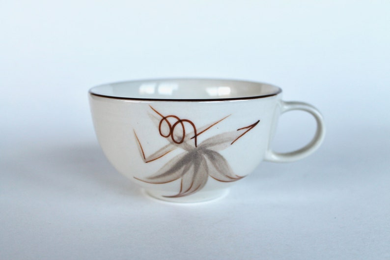Hand Painted Porcelain China Vintage 1940/'s Winfield Passion Flower Tea Cup