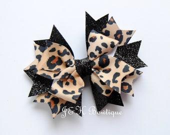 8cb6376b4c2 Leopard print Hair bow