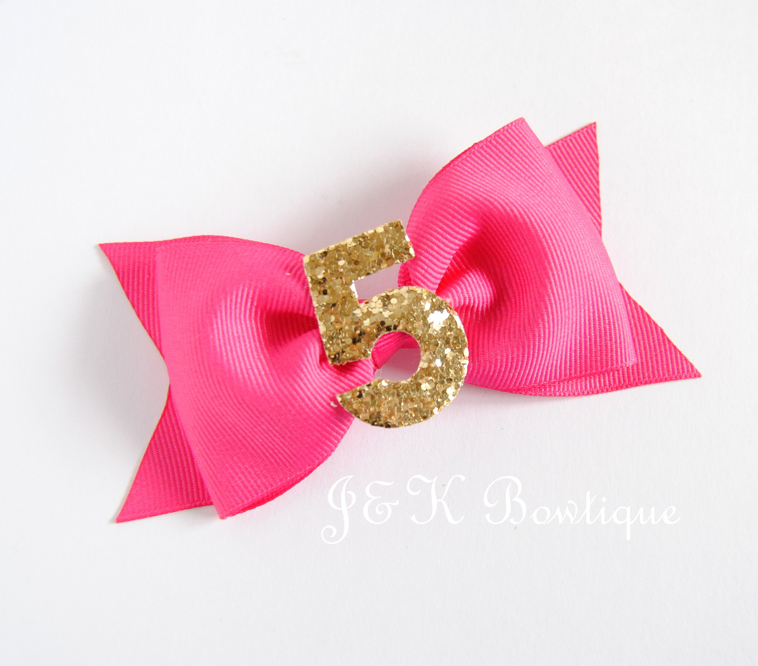 first birthday hair bow Yellow and silver birthday bow yellow Birthday hair Bow Birthday hair bow hair accessories yellow bow