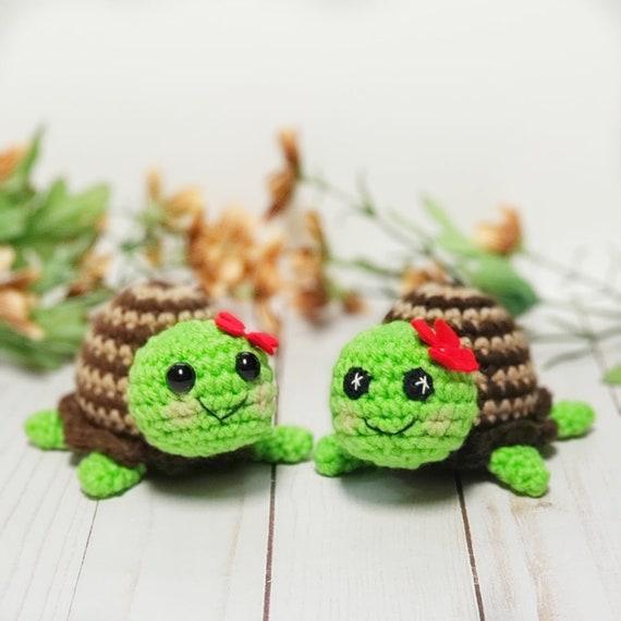 30 Crochet Turtle Amigurumi Toy Softies Free Patterns | Crochet ... | 570x570