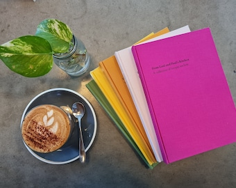 personalized recipe book A5