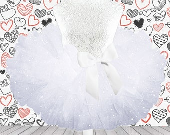 White Glitter Valentine Tutu Skirt,Sparkly Glitter Tutu,Sparkly Tulle Skirt,Glitter Tutu Skirt,Valentine Tutu,Valentine Baby Tutu