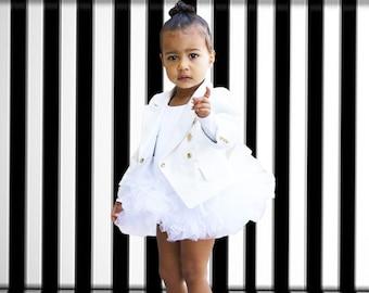 The North West White Tutu, White Tutu, White Baby Tutu, White Toddler Tutu, White Girls Tutu, Childs Tutu, Custom Sewn Tutu, Fast Shipping