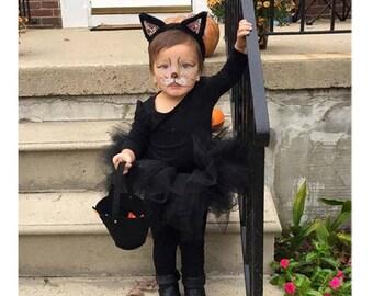 Black Kitty Cat Costume Black Kitty Cat Tulle Tutu Costume For
