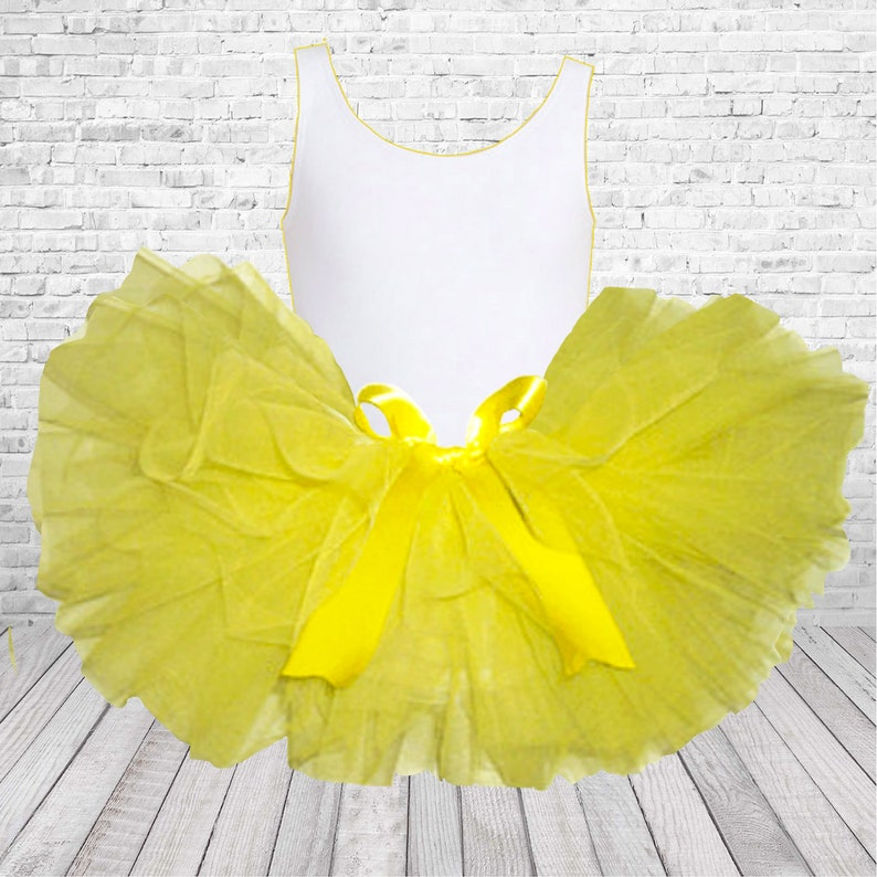 6d1db41b3 Yellow Tutu BabyYellow Baby TutuYellow Tutu Skirt for Baby | Etsy