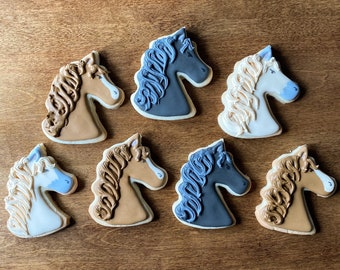For the Love of Horses - set of 7 sugar cookies