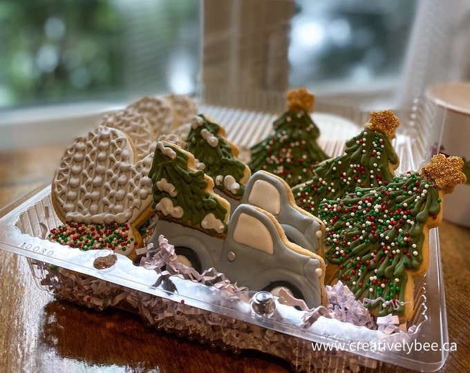 Featured listing image: Christmas Memories - Decorated Cookie Set of 9