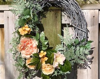 Victorian Spring Wreath