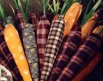 Primitive Carrots - 6 in a bunch