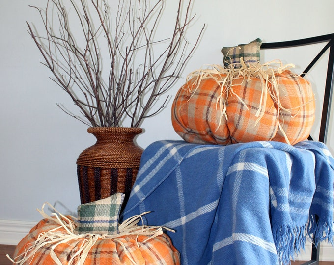 Featured listing image: Giant Burlap Pumpkins