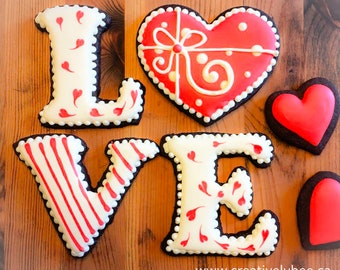 LOVE .SVG Stencil and Digital Download