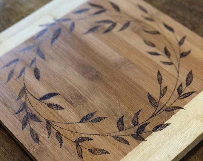 Custom Bamboo Kitchen Board