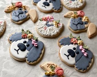 Puppy-Love Cookies - set of 9
