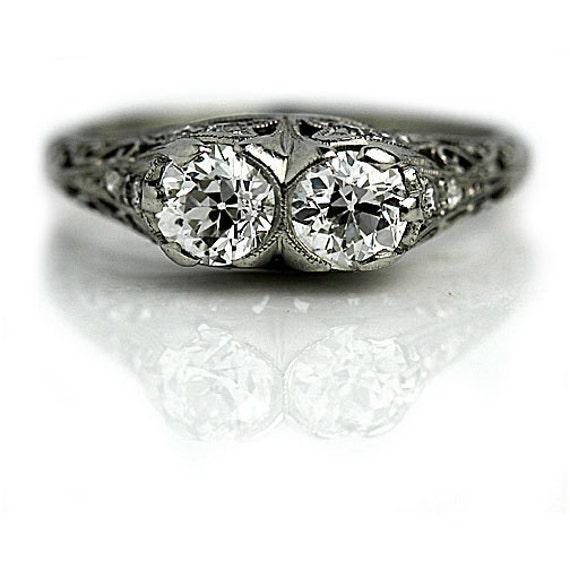 Art Deco Antique Diamond Ring