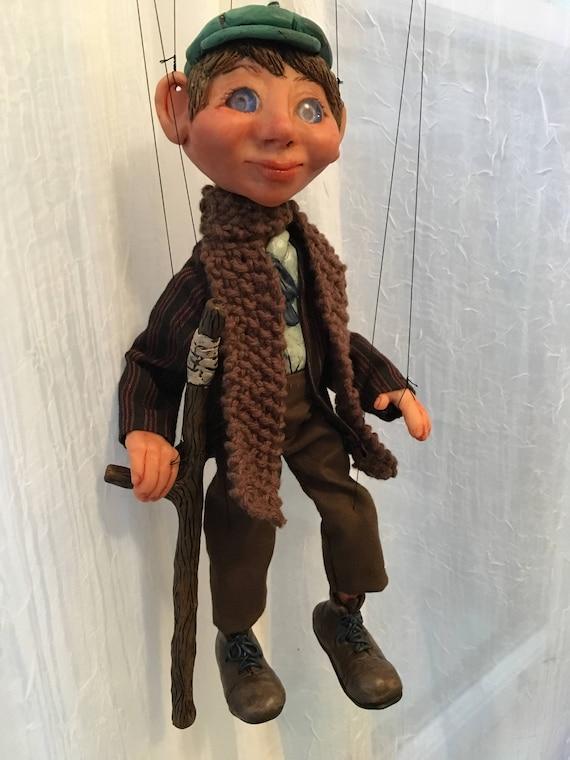 Tiny Tim Christmas Carol.A Christmas Carol Tiny Tim Marionette Made To Order