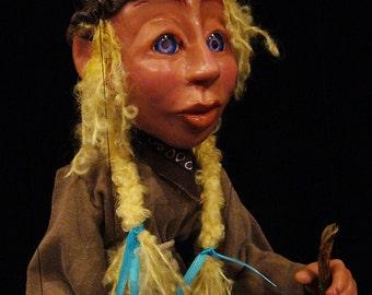 Cinderella Marionette (MADE TO ORDER)