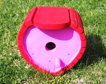 Heart Shaped Birdhouse  BUILT TO ORDER