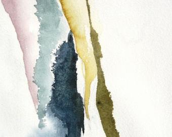 River Bend - Original Watercolor Painting