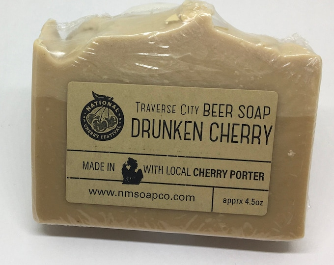 Drunken Cherry Beer Soap