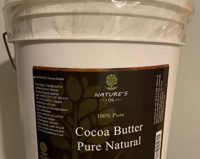 Cocoa butter pure natural