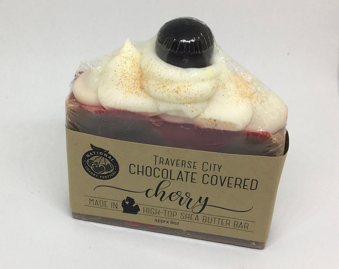 Chocolate Covered Cherry - High Top Soap