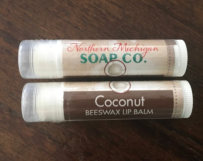 Coconut Beeswax Lip Balm