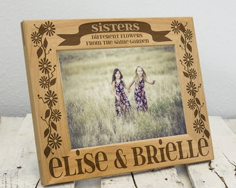 Personalized Picture Frame for Sisters | Custom Sisters Gift | Special Gift for Sisters | Special Bond Between Sisters | Custom Sister Gift