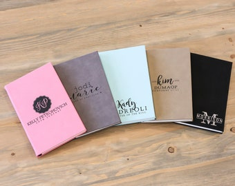 Personalized Leather Journal | Leather Journal for Her | Gratitude Book | Laser-engraved Journal | Custom Leather Journal | Gift for Her