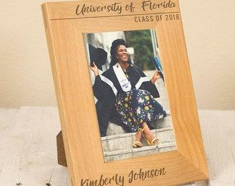 Elegant Graduation Frame | Personalized Graduation Picture Frame | College Graduation | High School Graduation |Personalized Graduate Gift
