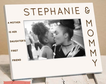 Mommy & Daughter Son Personalized Frame, Includes Childrens Name, Gift Box, Unique Mother Daughter Mothers Day Present, Gift For Wife