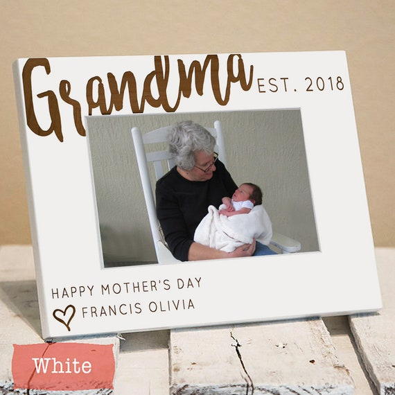 gifts for grandma personalized grandma picture frame etsy