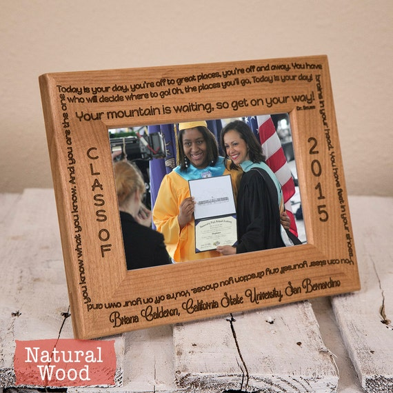 Graduation Picture Frames 2020.Personalized Graduation Picture Frame Customized Graduation Gift Present For Graduate Graduation Gift 2018 2019 2020 Wood Frame