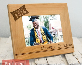 Personalized Graduation Picture Frame | Custom Graduation Gift | Off to College Gift | High School Senior Gift | College Graduate Gift