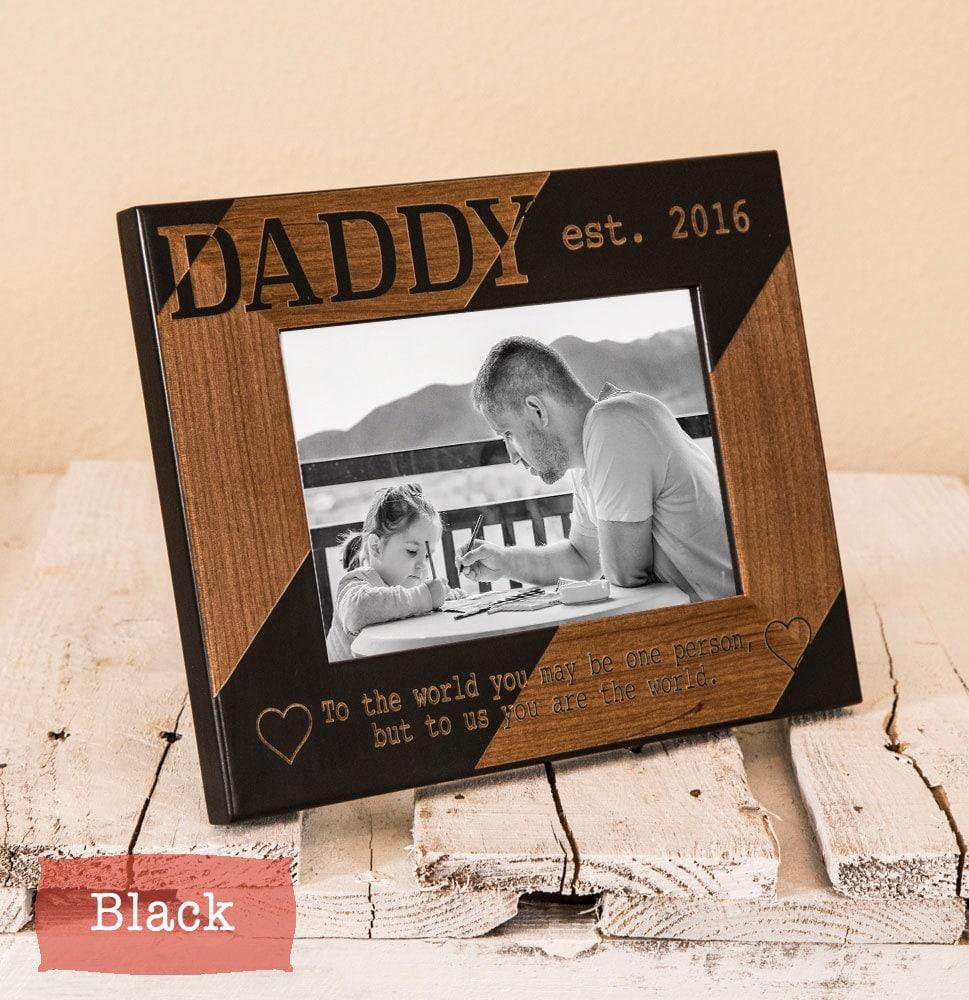 Personalisierte Bilderrahmen Daddy Weihnachts-Geschenk für   Etsy
