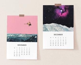 2022 Desk Calendar, Mini Calendar - Mountains