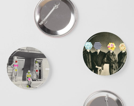 Retro Badges, Cool Gifts for Guys - Modesty
