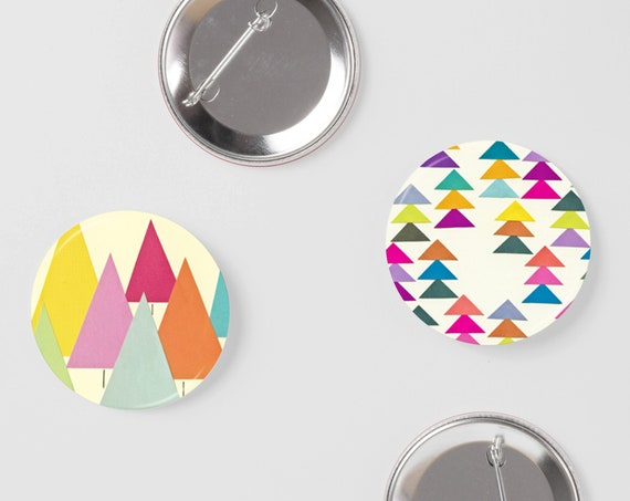 Forest Badge Set, Christmas Gifts for Friends - Forest