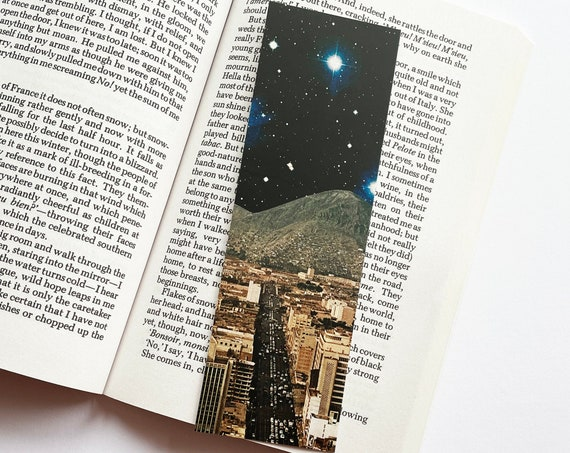 Sci-fi Bookmark - Space City